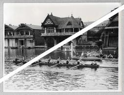 PHOTO PRESS - HENLEY REGATTA - 1954 - KRYLIA SOVETOV ........ - BOATING - AVIRON - CANOTTAGGIO - Sport