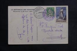 """SUISSE - Carte De L'Inauguration """" Sentinelle Des Rangiers """" Par Avion En 1924, Oblitérations Plaisantes - L 41289 - Marcophilie"""