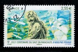 2013 CENTENAIRE SAUT EN PARACHUTE ADOLPHE PEGOUD OBLITERE CACHET ROND  #228# - Francia