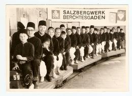 PHOTO ORIGINALE GERMANY ALLEMAGNE - KLEINER ZUG SALZBERGWERK BERCHTESGADEN SALZ - PETIT TRAIN MINE De SEL - Luoghi