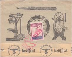 Norwegen: Deutsche Zensur 288 Grieg Als EF Auf Auslandsbrief TRONDHEIM 21.7.43 - Krankheiten