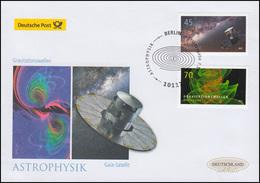 3347-3348 GAIA-Satellit Und Gravitationswellen, Schmuck-FDC Deutschland Exklusiv - [7] Federal Republic