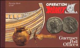 Guernsey Markenheftchen 38 Operation Asterix 1992 ** - Guernsey