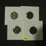 Portugal 4 Coins X Centavos 1967 Brown BU - Münzen & Banknoten