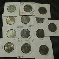 Portugal 13 Coins 25 Escudos 1977 Alexandre Herculano - Münzen & Banknoten