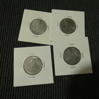 Portugal 4 Coins 5 Escudos 1977 Alexandre Herculano - Kilowaar - Munten