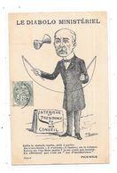 CPA Satirique, Politique : LE DIABOLO MINISTERIEL - Satirical