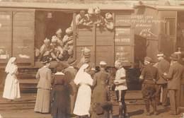 87-LIMOGES-CARTE-PHOTO- GUERRE 1914, PASSAGE DU TROUPES - HINDOUES - Limoges