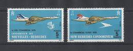 NOUVELLES-HEBRIDES .  YT   N° 424-425  Neuf **  1976 - Leggenda Francese
