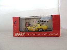 ALFA ROMEO TZ1 NR. 60 TARGA FLORIO 1965 BEST 9061 NUOVA IN BOX (1102) - Best Model