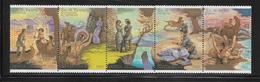 RUSSIE  ( EURU8 - 434 )   1989  N° YVERT ET TELLIER  N° 5684/5688  N** - Neufs