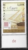 MONACO , 2019, MNH,MONACOPHIL, SHIPS, THE EGYPT, 1v - Barche