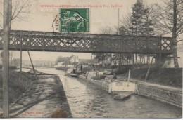 21 POUILLY-en-AUXOIS  Pont Du Chemin De Fer - Le Canal - Autres Communes