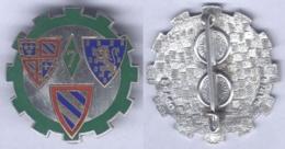 Insigne De La 7e Compagnie Régionale Du Train - Armée De Terre