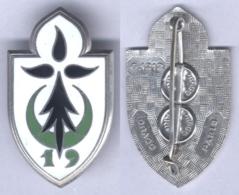 Insigne De La 19e Division D'Infanterie - Army