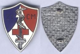 Insigne De La 21e Compagnie Médicale - Servicios Medicos