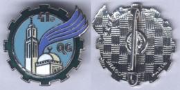 Insigne De La 41e Compagnie De Quartier Général - Army