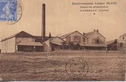 19 LUBERSAC Etablissement Léonce Blanc  Consrves Alimentaires - Frankrijk