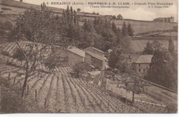 42 RENAISON Vignoble J.B  Clair  Grand Vin Mousseux - Autres Communes