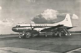 CP - Avion - Vliegtuig - Sabena - Convair 240 Avant Le Départ - 1946-....: Modern Tijdperk