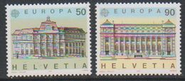 Europa Cept 1990 Switzerland 2v  ** Mnh (44416) Promotion - 1990