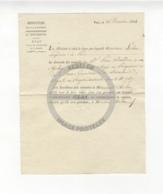 /!\ 1315 - Parchemin - Militaire - 1814 - Lettre Au Ministre De La Guerre - Manoscritti