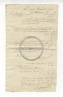 /!\ 1319 - Parchemin - Militaire - 1802 - Strasbourg - Solde De Compte Fourrier - Manoscritti