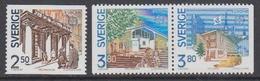 Europa Cept 1990 Sweden 3v ** Mnh (44416B) - 1990