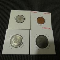 Thailand 4 Coins - Münzen & Banknoten