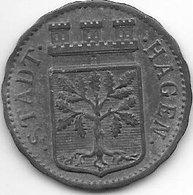 *notgeld  Hagen  50 Pfennig 1917   Zn   5426.6 - [ 2] 1871-1918 : Imperio Alemán