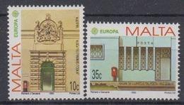 Europa Cept 1990 Malta  2v  ** Mnh (44416F) Promotion - 1990