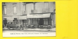 CASTILLON Café Du Phénix Place Thiers (Siorat) Gironde (33) - Altri Comuni