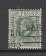 Fiji SG 126 1912 King George V Half Penny Green,used - Fiji (1970-...)