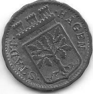 *notgeld  Hagen  10 Pfennig 1918   Zn   5426.12 - [ 2] 1871-1918 : Empire Allemand