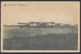 Belgique - Wevelghem : Het Vliegplein / Le Champ D'aviation.  Voyagée De Wevelghem (1947) Vers Laeken - 1946-....: Ere Moderne