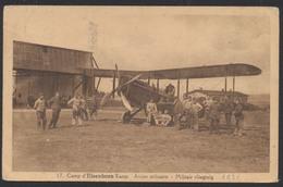 Belgique - Camp D'Elsenborn Kamp : Avion Militaire / Militar Vliegtuig.  Voyagée D'Elsenborn (1939) Vers Antwerpen - 1939-1945: 2ème Guerre