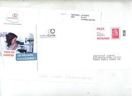 Pap Reponse Yseultyz Institut Curie + Destineo - Listos Para Enviar: Respuesta /Beaujard