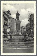 CPA Liège , La Fontaine De La Vierge. Circulé 1950 +timbre 749 Belgica+flamme - Liege