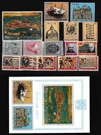 1972 Vaticano Vatican ANNATA  YEAR Di 5 Serie + Foglietto Venezia MNH** - Vatican