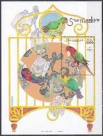 Somalia 1999 Tiere Fauna Animals Vögel Birds Oiseaux Aves Uccelli Papageien Parrots Lori, Bl. 59 ** - Somalia (1960-...)