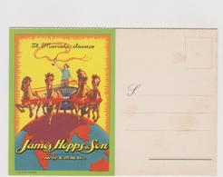 Pubblicitaria, Marsala James Hopps & Sons, Mazara Del Vallo, Illustrata  - F.G. - Anni '1920/'1930 - Pubblicitari
