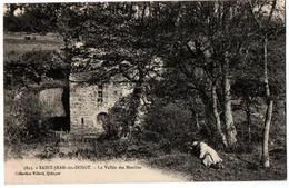 SAINT JEAN DU DOIGT LA VALLEE DES MOULINS ANIMEE - Saint-Jean-du-Doigt