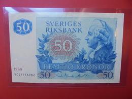 SUEDE 50 KRONOR 1989 CIRCULER (B.6) - Suède
