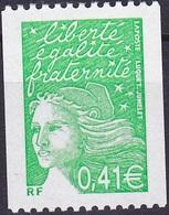 France Marianne De Luquet Roulette N° Rouge Au Verso N° 3458a Année 2002 Neuf** - Neufs