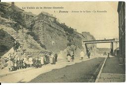 08 - FUMAY / AVENUE DE LA GARE - LA PASSERELLE - Fumay