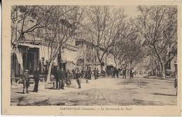 CARPENTRAS ( VAUCLUSE ) : Le Boulevard Du Nord Bien Animé - Carpentras