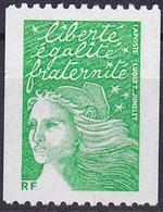 France Marianne De Luquet Roulette N° Noir Au Verso N° 3535B Année 2002 Neuf** - Neufs
