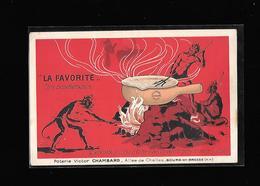 C.P.A. ILLUSTREE ... PUBLICITE POUR LA POTERIE CHAMBARD A BOURG EN BRESSE 01 - Publicidad