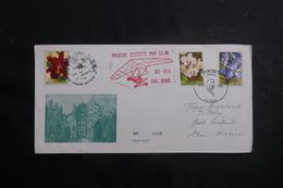 BELGIQUE - Enveloppe 1er Courrier Par ULM En 1995 , Affranchissement Plaisant - L 41318 - Covers & Documents