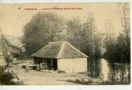 DONJEUX  Lavoir Fontaine Saitn Georges - Autres Communes